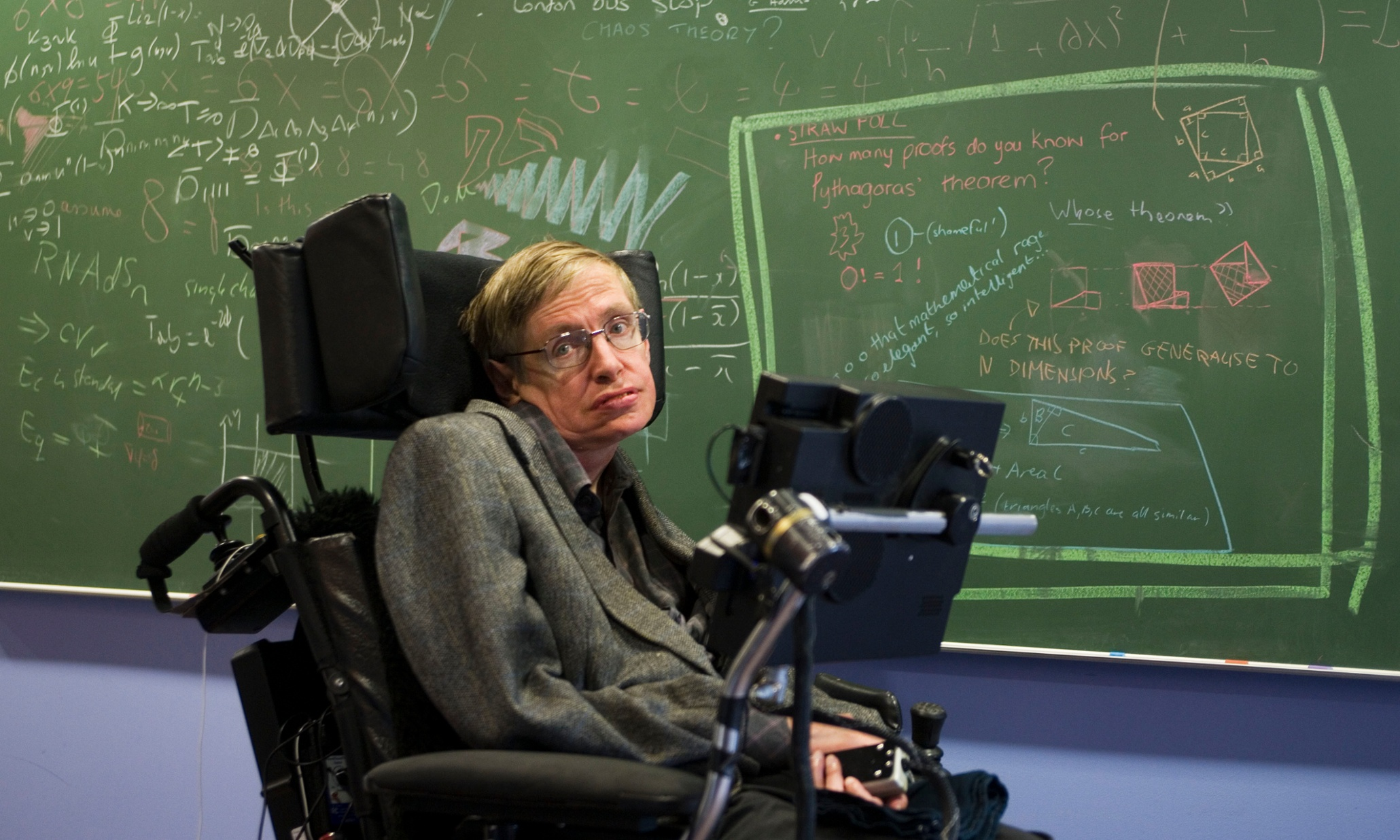 Stephen Hawking says he's solved a black hole mystery, but ...
